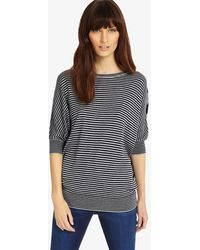Phase Eight - Becca Mix Stripe Batwing Jumper - Lyst