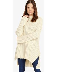 Phase Eight - Fae Chunky Step Hem Knitted Jumper - Lyst