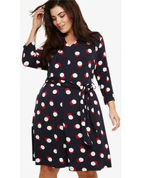 Phase Eight - Anne Spot Dress - Lyst