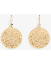 Phase Eight - Louise Filagree Drop Earrings - Lyst