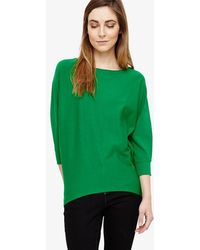 Phase Eight - Becca Smart Batwing Knitted Jumper - Lyst
