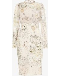 Phase Eight - Loren Floral Dress - Lyst