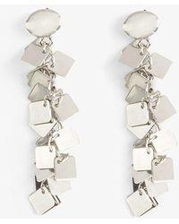 Phase Eight - Macia Square Jumble Drop Earrings - Lyst