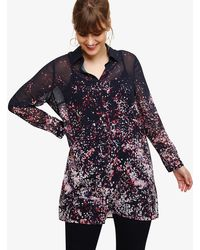 Phase Eight - Corabella Long Line Blouse - Lyst