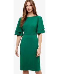 Phase Eight - Daley Drape Dress - Lyst