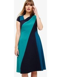 Phase Eight - Michelle Colour Block Dress - Lyst