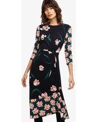 Phase Eight - Leto Floral Print Dress - Lyst