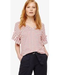 Phase Eight | Sofie Stripe Top | Lyst