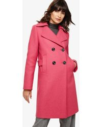 41a02295e John Lewis Trench Coat in Natural - Lyst