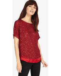 Phase Eight - Sequin Macey Knit - Lyst
