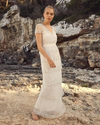 Phase Eight - Nyelle Layered Wedding Dress - Lyst
