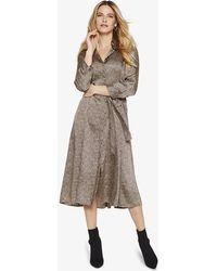 Phase Eight - Lexia Animal Print Shirt Dress - Lyst