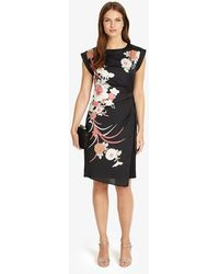 Phase Eight - Oriental Print Dress - Lyst