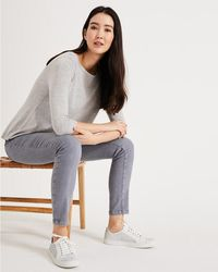 Phase Eight - Fiona Laser Cut Trainer - Lyst