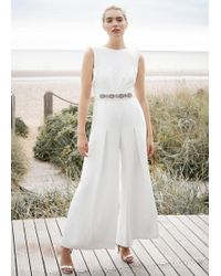 Phase Eight - Victoriana Bridal Jumpsuit - Lyst