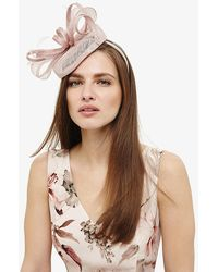 Phase Eight - Cassie Twisted Bow Pillbox Fascinator - Lyst