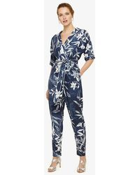 Phase Eight - Hanna Printed Jumpsuit - Lyst