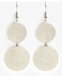 Phase Eight - Lillia Double Filagree Drop Earrings - Lyst