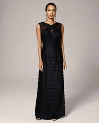 84c01e70b7 Phase Eight - Hermione Layered Full Length Dress - Lyst