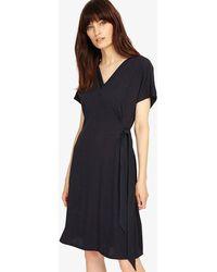 Phase Eight - Fallon Fine Pleat Dress - Lyst