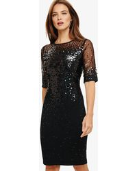 Phase Eight - Orlena Ombre Sequin Knit Dress - Lyst