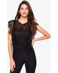 Phase Eight - Ines Lace Blouse - Lyst