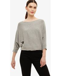 Phase Eight - Becca Sparkle Batwing Knit Top - Lyst
