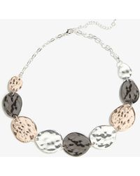 Phase Eight - Carolina Mixed Plate Coin Necklace - Lyst