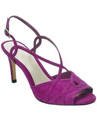 Phase Eight - Ally Suede Strappy Sandals - Lyst