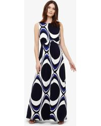 Phase Eight - Circles Print Maxi Dress - Lyst