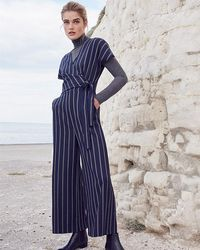 Phase Eight - Remee Stripe Jumpsuit - Lyst
