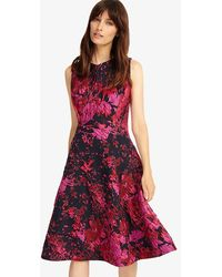 Phase Eight - Fifi Abstract Dress - Lyst