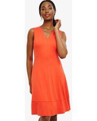 Phase Eight - Panya Panelled Dress - Lyst
