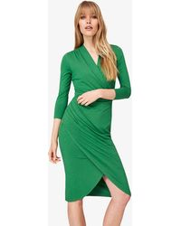 Phase Eight - Aurelia Wrap Jersey Dress - Lyst