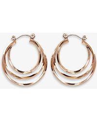 Phase Eight - Ivanna Hoop Earrings - Lyst