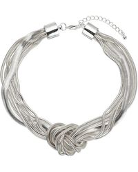 Phase Eight - Annabelle Knot Necklace - Lyst