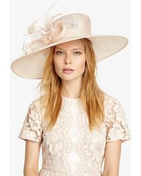 Phase Eight - Cecily Flower Trim Hat - Lyst