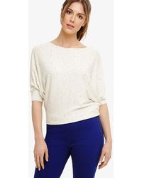 Phase Eight - Becca Smart Coloured Fleck Knit Top - Lyst