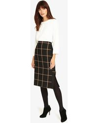 Phase Eight - Hermione Check Pencil Skirt - Lyst