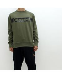 Money - Block Sig Sweat Khaki - Lyst