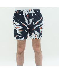 Samsøe & Samsøe - Samoe And Samsoe Mason Swim Shorts Blue - Lyst