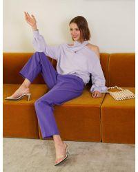 Pixie Market - Nico Lavender Sweatshirt - Lyst