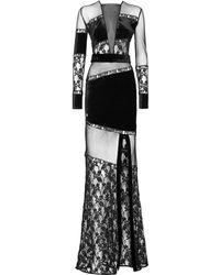 Philipp Plein - Long Dress Lace - Lyst