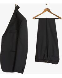 Paul Smith - 'kensington' Dinner Suit With Braiding Trim Black - Lyst