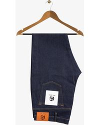PS by Paul Smith | Slim Fit Raw Denim Jeans With Stitch Detail | Lyst