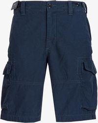 Ralph Lauren - Classic Pocket Cargo Short Navy - Lyst