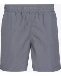 Ralph Lauren - Classic Pony Logo Swim Shorts Combat Grey - Lyst