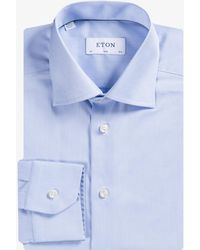 Eton of Sweden - Exclusive Slim Fit Twin Shirt Set Blue/white - Lyst