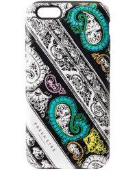 Preen By Thornton Bregazzi - Iphone Case Paisley Panel - Lyst