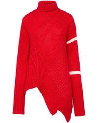 Preen By Thornton Bregazzi - Pf18 Serenity Jumper Red - Lyst